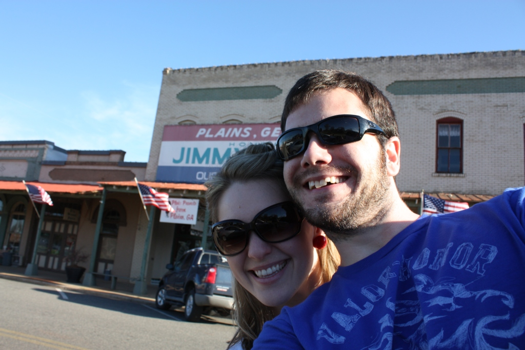 Our first visit to Americus and Plains...we drove past Jimmy Carter's house 5 times trying to see if we could spot him.